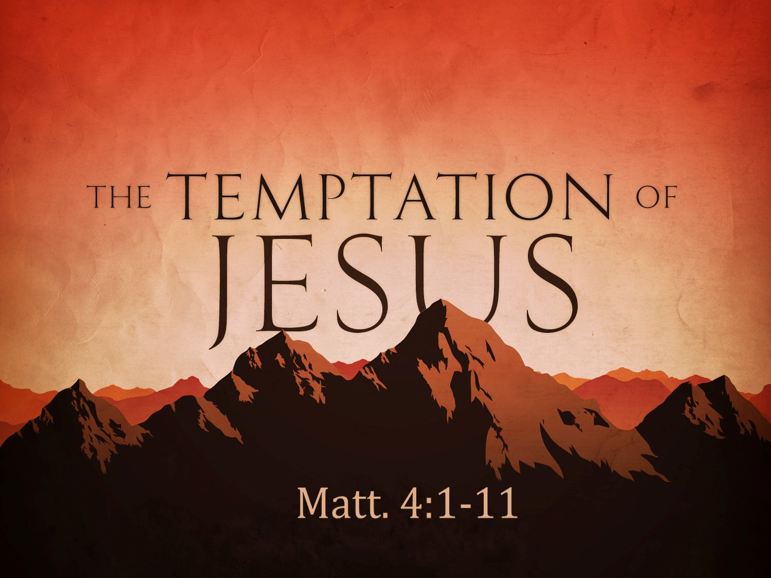 3 Short Lessons from Jesus' Temptations | ResponsiveReiding
