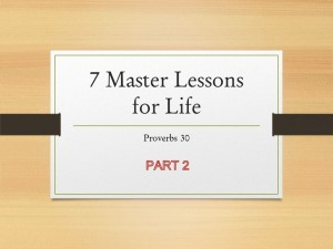 7 Master Lessons for Life 2