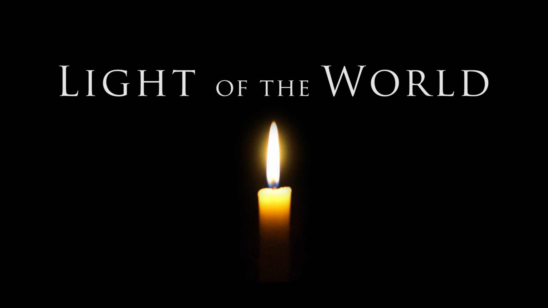 Jesus, Light of the World: A Christmas Eve Meditation ...