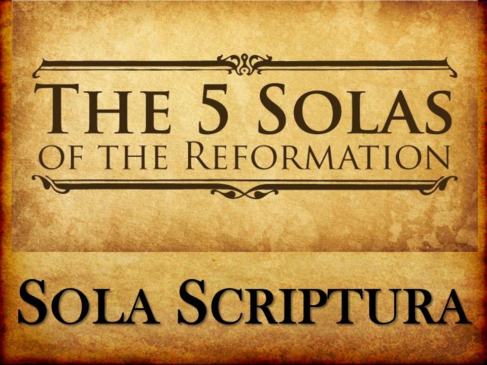 Sola Scriptura Demands Inerrancy